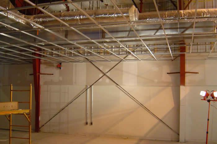 Industrial pharmaceutical distribution construction by Dunbar & Brawn Construction, Bangor, Maine.